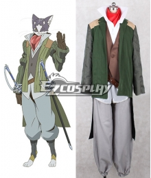 Log Horizon Nyanta Cosplay Costume
