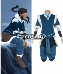 Avatar The Legend of Korra Season 2 Korra Cosplay Costume