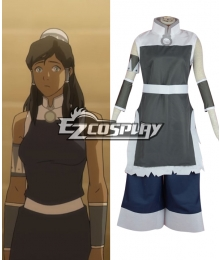 The Legend of Korra Korra Cosplay Costume