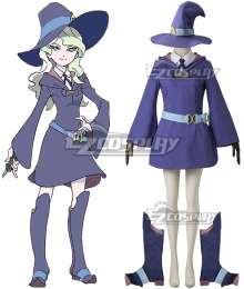 Little Witch Academia Diana Cavendish Cosplay Costume