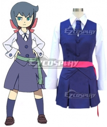 Little Witch Academia Atsuko Kagari Diana Cavendish Constanze Braunschbank Albrechtsberger Sucy Manbavaran School Uniform Cosplay Costume - Belt color select
