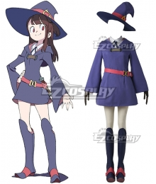 Little Witch Academia Kagari Atsuko Rotte Yanson Cosplay Costume