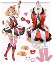 Macross Delta Macross Δ Freyja Wion Red Cosplay Costume
