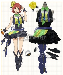 Macross Delta Macross Δ Kaname Buccaneer Yellow Cosplay Costume