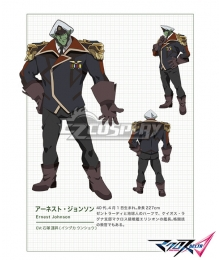 Macross Delta Macross Δ Ernest Johnson Cosplay Costume