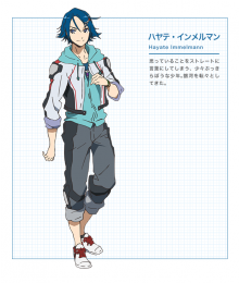 Macross Delta Macross Δ Hayate Immelman Cosplay Costume - Only the Coat and Trousers