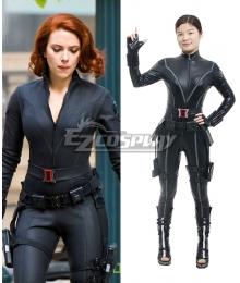Marvel New Captain America 2 Avengers Black Widow Natasha Romanoff Cosplay Costume