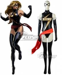 Marvel Ms. Marvel Carol Danvers Captain Marvel Cosplay Costume