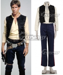 Star Wars Episode VI Return of the Jedi Han Solo Cosplay Costume