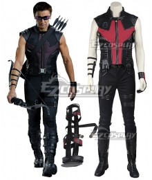 Marvel The Avengers Hawkeye Clinton Francis Barton Cosplay Costume - Not Including Boots