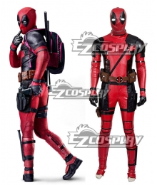 Marvel Deadpool Wade Wilson Cosplay Costume New Version - B Edition