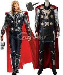 Marvel Avengers Age of Ultron Thor Odinson Cosplay Costume