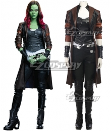 Marvel Guardians of the Galaxy Vol. 2 Gamora Cosplay Costume - No Boots