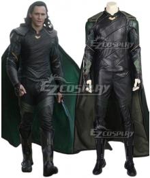 Marvel Thor 3 Ragnarok Loki Cosplay Costume - No Boots