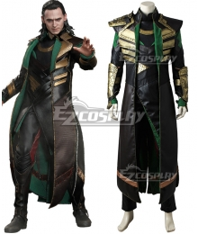 Marvel Thor 2: The Dark World Loki Cosplay Costume