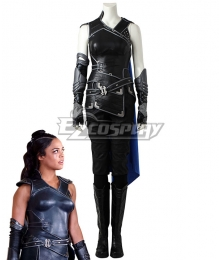 Marvel Thor 3 Ragnarok Trailer Valkyrie Cosplay Costume - No Boots