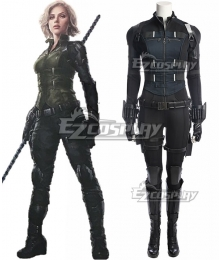 Marvel Avengers: Infinity War Black Widow Natasha Romanoff Cosplay Costume