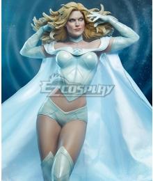 Marvel: Avengers Alliance Jean Grey Emma Frost Wolverine Phoenix White Cosplay Costume