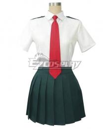 My Hero Academia Boku no Hero Akademia Ochako Uraraka Kyoka Jiro Tsuyu Asui Summer School Uniform Cosplay Costume