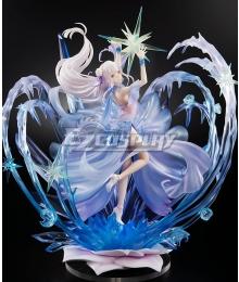 Re: Life In A DiffeRent World From Zero Re: Zero Kara Hajimeru Isekai Seikatsu Emilia Crystal Dress Ver. Cosplay Costume