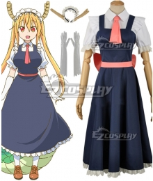 Miss Kobayashi's Dragon Maid Tohru Cosplay Costume - B Edition
