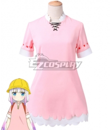 Miss Kobayashi's Dragon Maid Kanna Kamui School Uniform Cosplay Costume