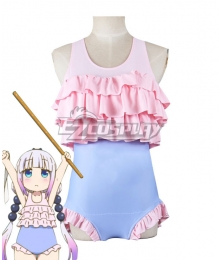 Miss Kobayashi's Dragon Maid Kanna Kamui Swimsuit Cosplay Costume