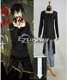 Mekakucity actors Kagerou Project NO.9 Dark Konoha Kokonose Haruka Black Cosplay Costume