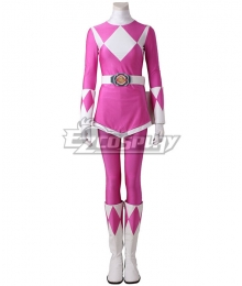 Mighty Morphin' Power Rangers Mei Ptera Ranger Cosplay Costume - Including Boots