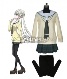 Magical Warfare Momoka Mhijou School Uniform Cosplay Costume