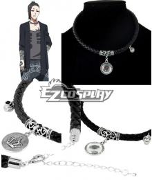 Tokyo Ghoul Tokyo Guru √A Uta Necklace Pendant Chain Choker Gift Punk PU Cosplay Accessory Prop
