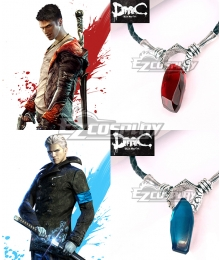 DmC Devil May Cry 5 Dante Vergil Necklace Cosplay Accessory Prop