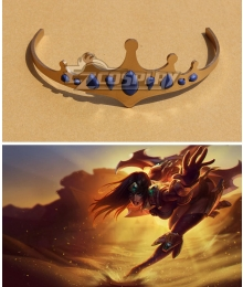 League of Legends Classic Sivir The Battle Mistress Headwear Cosplay Accessory Prop
