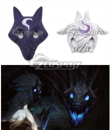 League of Legends LOL Kindred Wolf and the Lambs Mask Cosplay Accessory Prop