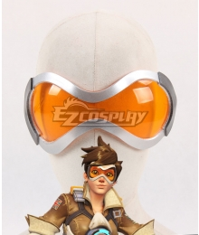 Overwatch OW Tracer Lena Oxton Goggles Cosplay Accessory Prop