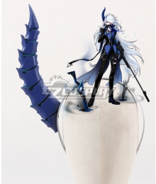Elsword Ciel Demonio Horn Headwear Cosplay Accessory Prop