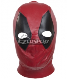 Marvel Deadpool Deadpool Wade Wilson Leather Head Cap Cosplay Accessory