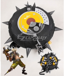 Overwatch OW Junkrat Jamison Fawkes Tire Grenades Cosplay Accessory Prop