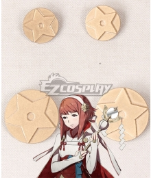 Fire Emblem Fates IF Sakura Four Brooch Cosplay Accessory Prop