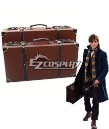 Fantastic Beasts and Where to Find Them Newt Scamander Magic Case Film Cosplay Accessory Prop
