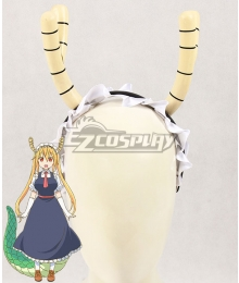 Miss Kobayashi's Dragon Maid Tohru Dragon Horns Headwear Cosplay Accessory Prop