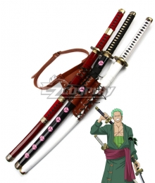 One Piece Roronoa Zoro Sword Bandage Cosplay Accessory Prop