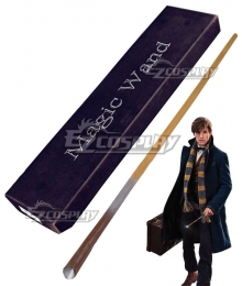 Fantastic Beasts and Where to Find Them Newt Scamander Magic Wand Cosplay Weapon Prop