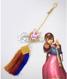 Overwatch OW D.Va DVa Hana Song Palanquin Waist Decoration Cosplay Accessory Prop