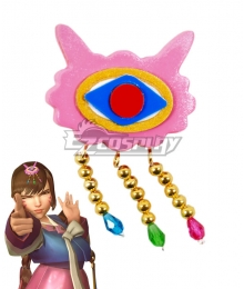 Overwatch OW D.Va DVa Hana Song Palanquin Headwear Cosplay Accessory Prop