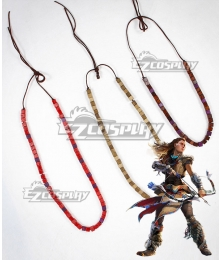 Horizon: Zero Dawn Aloy Three Necklaces Cosplay Accessory Prop