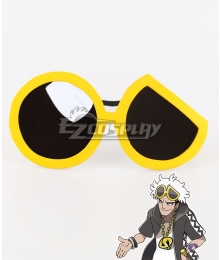 Pokemon Sun and Moon Team Skull Guzma Glasses Cosplay Accessory Prop