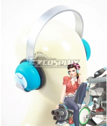 Overwatch OW D.Va DVa Hana Song Cruiser Headset Cosplay Accessory Prop