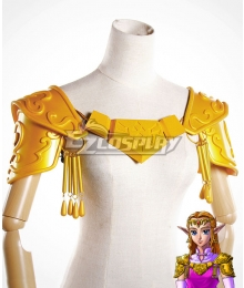 The Legend of Zelda: Ocarina of Time Princess Zelda Pauldrons Cosplay Accessory Prop