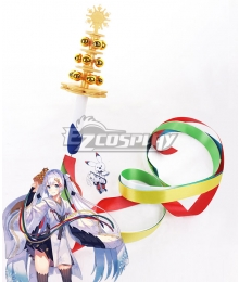 Vocaloid Snow Miku 2018 Bell Cosplay Accessory Prop